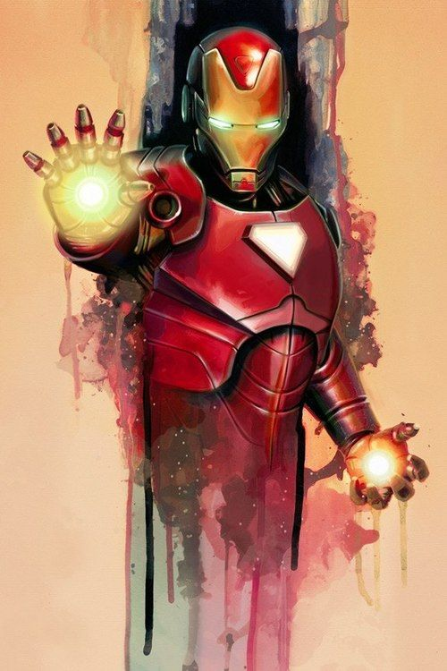 Iron Man by Brian Rood  Auction your comics on http://www.comicbazaar.co.uk