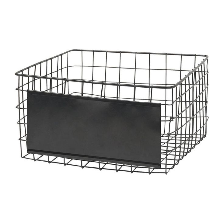 Are You Interested In Our Square Wire Basket With Black Need