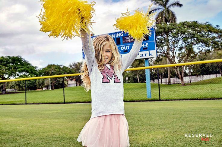Reserved Kids SS16 #cheerleder#yellow#tulle#skirt#summer#games