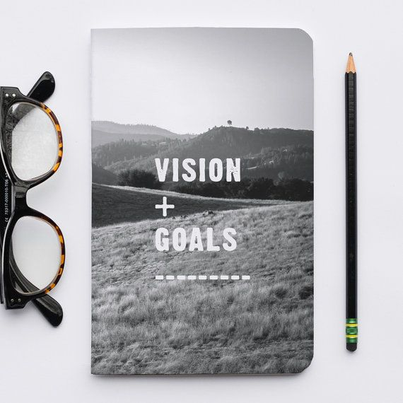 Visione degli obiettivi Notebook / Journal di LemoneeOnTheHills