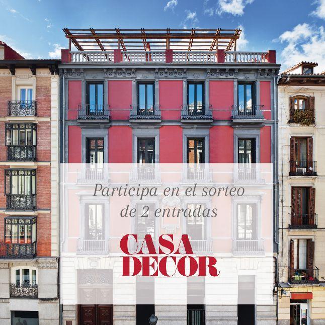 SORTEO | ↠ Gana dos entradas para #CasaDecorMadrid2016 ↞ ¿Cómo? Así