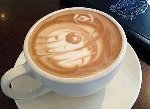 Star Wars Cappuccino anyone? (Me: Heck yes)