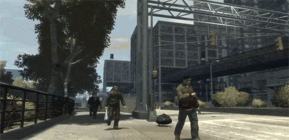 """""""Grand Theft Auto"""" GIFs That Make Us Question the Laws of Physics"""