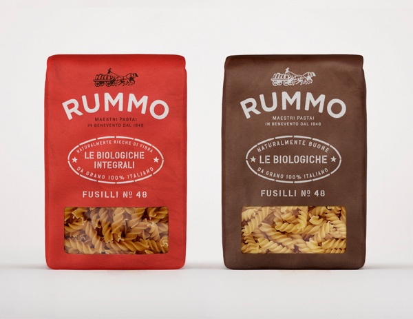 I was undecided on which board to put this Rummo rebranded packaging on. Then I choose this. I love pasta!