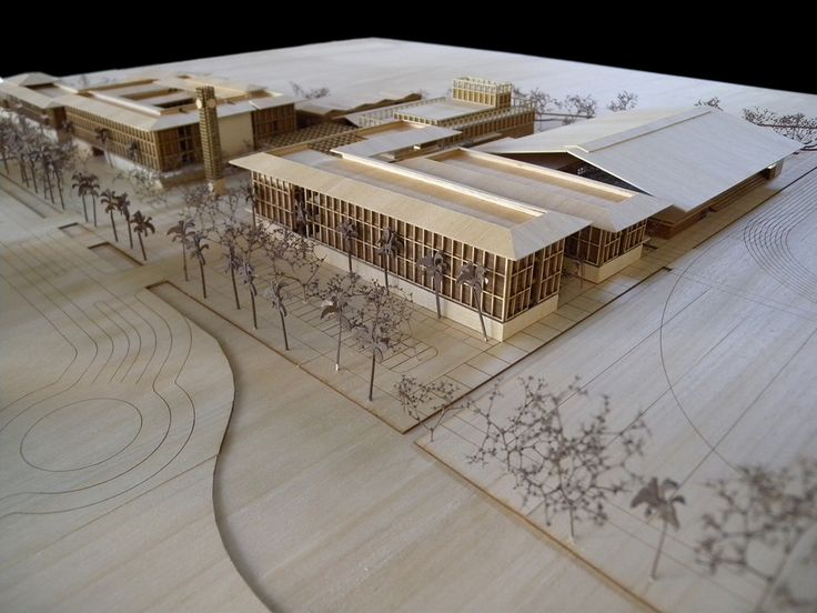 Maquette d 39 architecture dulwich international college for Maquette d architecture