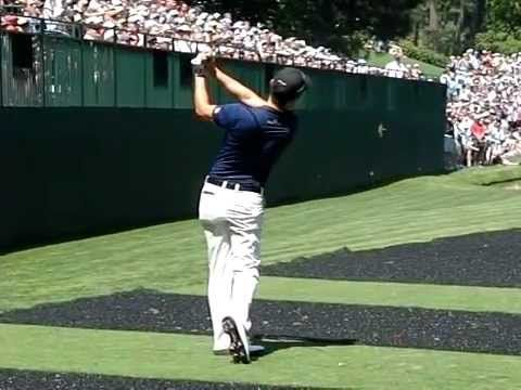 Sang Moon Bae - High Speed - Iron Swing - 2012 Masters Tournament