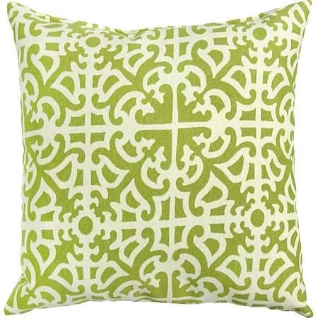 17-inch Outdoor Grass Square Accent Pillow (Set of 2) (Fern Grass)