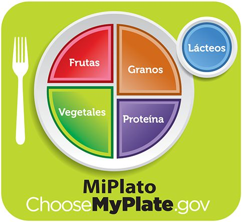 Mi Plato --  US Dept. of Agriculture.  My Plate replaces the Food Pyramid.