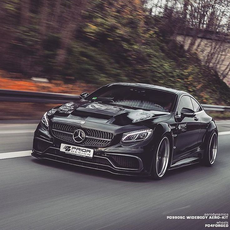#AMG S63 Class Coupe by Prior Design