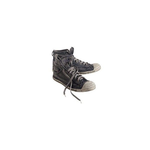 Sneaker ($66) ❤ liked on Polyvore featuring shoes, sneakers, converse, sapatos, diesel trainers, diesel shoes, diesel sneakers and diesel footwear