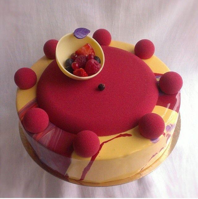 Pastry design by Ekaterina Gebrak