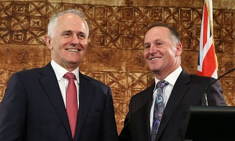 """Refugee Action Coalition spokesman Ian Rintoul insisted Abyan was flown out of Australia because lawyers were preparing for an injunction to prevent her return to Nauru.  Flying a refugee to Nauru in secret: is this any different to extraordinary rendition? """"The prime minister's statement is just not true,"""" Rintoul said. Malcolm Turnbull with New Zealand prime minister John Key in Auckland on Saturday. Turnbull responded to questions about the transfer of the woman back to Nauru."""