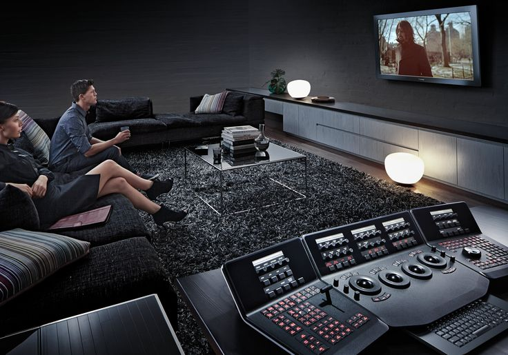 DaVinci Resolve In Living Room