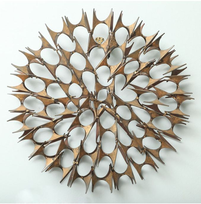 Exceptional Curtis Jere Wall Sculpture