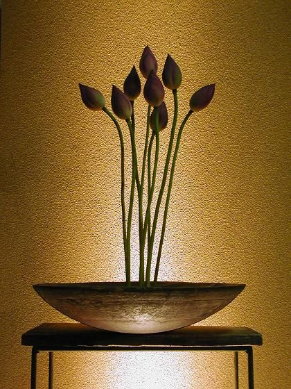 "Design inspiration: ""Ikebana"" flower decor, by Atsushi, Japan"