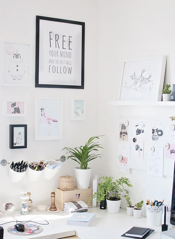 Micush illustrator studio- can you find my GIVE postcard here on the magnetic mood board? :)