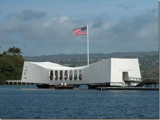 U.S.S. Arizona Memorial--Pearl Harbor, Hawaii