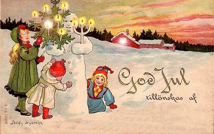 Поздравление с новым годом по шведски такое, что