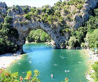 Le Pont d'Arc - Ardèche - this is one of the most fascinating places i have seen and a good days true fun! - the nature is stunning and the area is filled with all sort of adventure beyond canoeing - incl. hiking, climbing and MTB