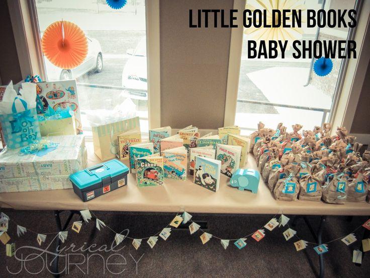 Pinterest Baby Showers Ideas | Lyrical Journey: Pinterest Challenge    Little Gold Books Baby Shower