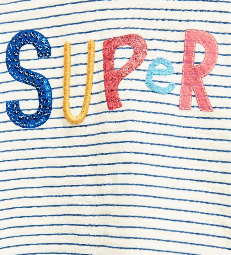 """""""Super"""" striped top"""