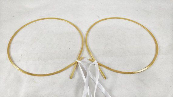STEFANA & Stefanothiki / Greek Crowns / Orthodox Greek Wedding Crowns / Στεφανα Γαμου Greek Tiaras / Wedding Tiaras. Hearts Puzzle Pattern