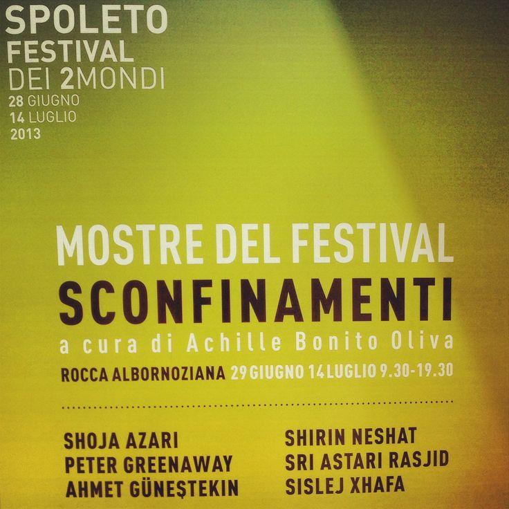 Sconfinamenti, Rocca di Spoleto.