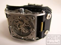 Industrial Watch by GRIOTH #industrial #postapo #steampunk #watch