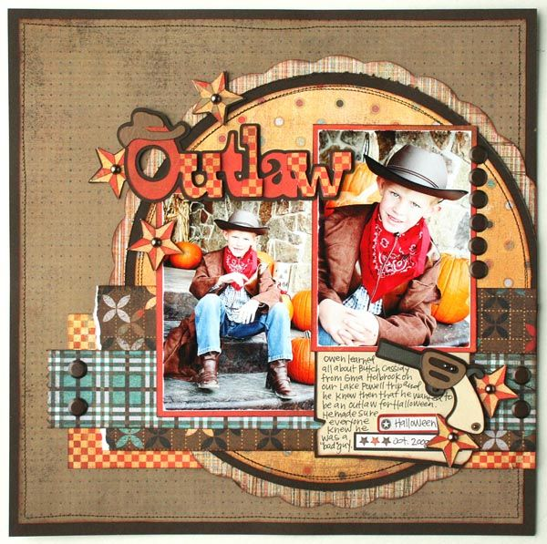 OUTLAW Layout – #Cricut County Fair Cartridge