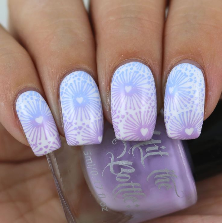 26 Great Nail Art Ideas: Love But No Pink Or Red by Olivia Jade Nails