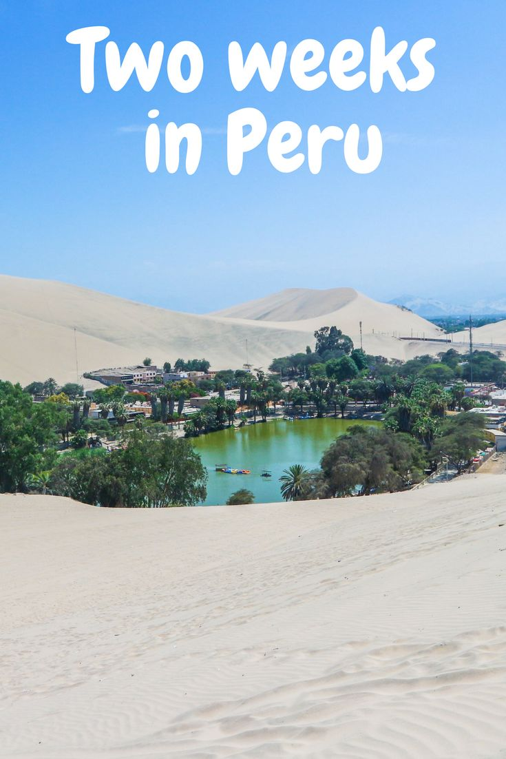 Peru is an amazing country to travel with chance for adventure throughout. There's an abundance of beautiful places, from wanderlust hotspot Machu Picchu to the Colca Canyon near Arequipa. You'll find no shortage of destinations for your bucket list – from cities to Inca ruins. This two-week Peru itinerary will guide you from Lima to Cusco, detailing trips, tips and things to do in each place making sure every day is full of highlights.