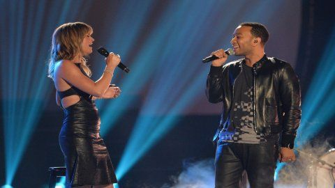 John Legend's 'All Of Me' Duet With Jennifer Nettles Dreamy Performance Backed By Hunter Hayes - MTV