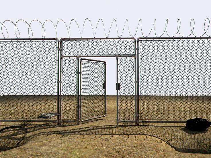 Abandoned Perimeter 3D Model   3D Model
