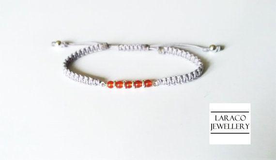 Laraco Jewellery  Sterling Silver & Carnelian by LaracoJewellery