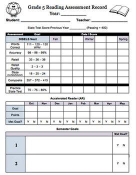 informal writing assessments for grade 5