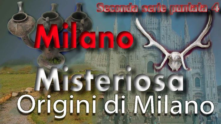 celtic origins of Milan (North italy)