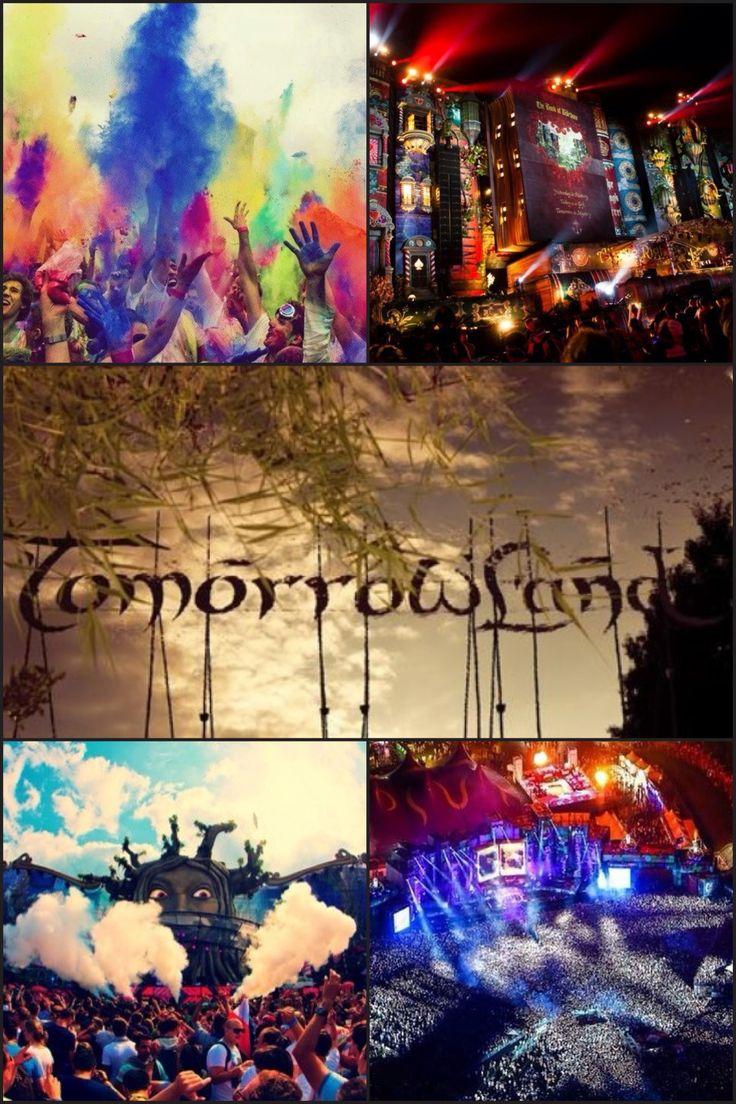 Tomorrowland - Belgium I WILL GO HERE Someday...