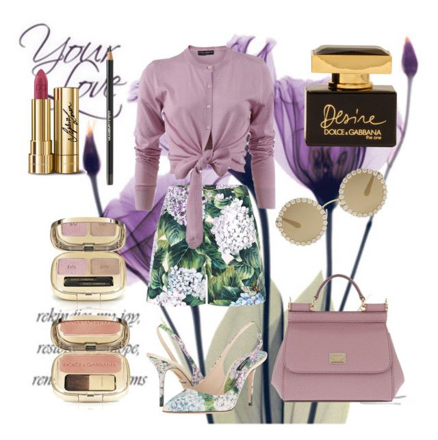 """""""Dolce&Gabbana"""" by spookie1 on Polyvore featuring Dolce&Gabbana"""