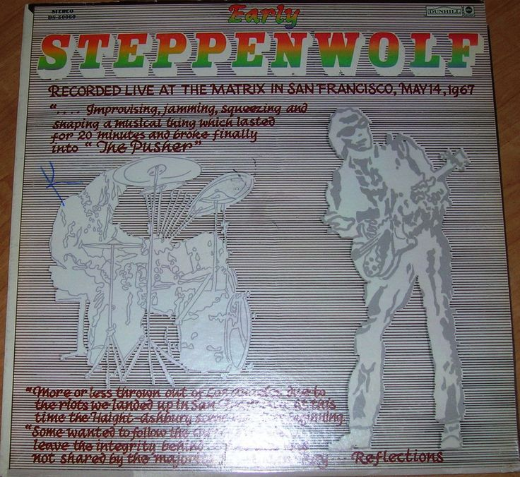 17 Best images about Steppenwolf. on Pinterest | Too late ...