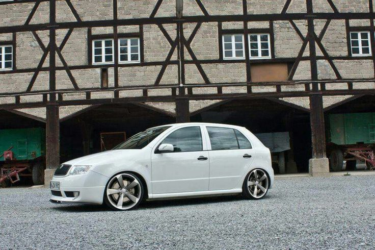 Fabia GT on Rotor wheels