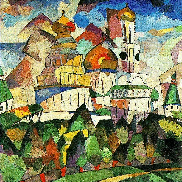 By Aristarkh Lentulov