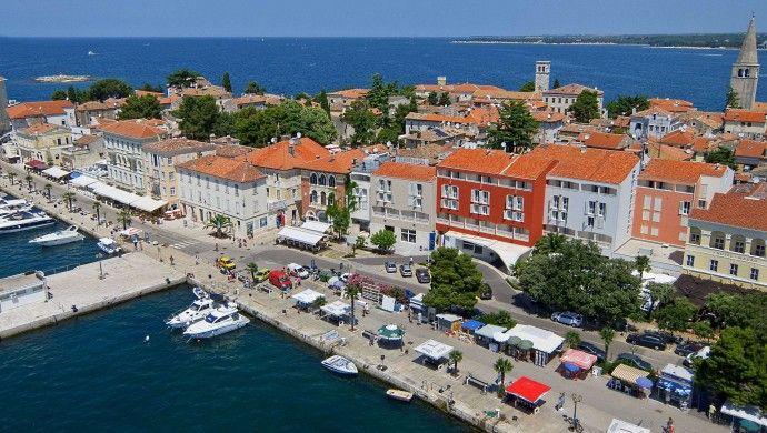 Valamar Riviera Hotel: Valamar Riviera Hotel is in a prime position on Porec's palm-lined seafront promenade. #Croatia