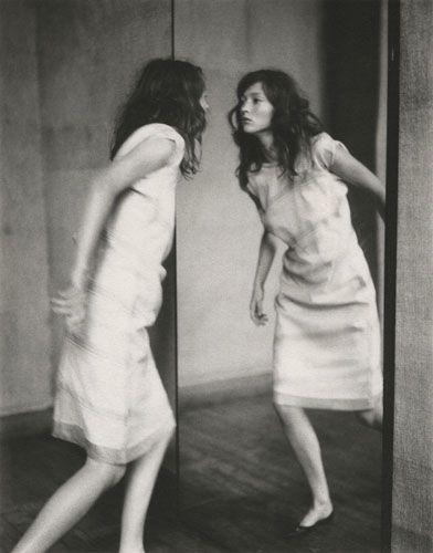 Paolo Roversi, Audrey through the mirror, Paris, 1998