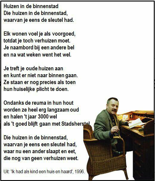 Ik had als kind een huis en haard door Willem Wilmink