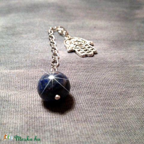 Spirituális inga - lápis lazuli (akucsmoni) - Meska.hu