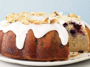 Cherry and almond fruit cake recipe
