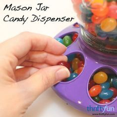 This is a guide about making a Mason jar candy dispenser. Mason jars are…