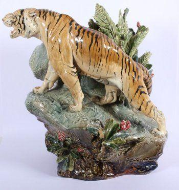 62 Best Majolica Figurals Images On Pinterest Porcelain