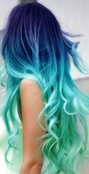The bluest form of self expression <<< omg this is similar to what my hair looks like