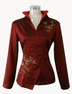 evening jackets for women | ... Chinese silk embroider Women's evening jacket /coat SZ:M L XL XXL 3XL